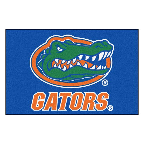 FANMATS NCAA University of Florida Gators Nylon Face Starter Rug from Fanmats