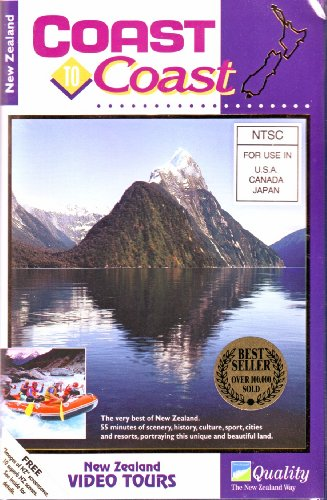New Zealand: Coast to Coast (VHS - Queenstown Outlet