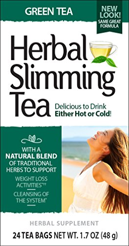 (21st Century Slimming Tea, Green Tea, 24 Count (Pack of 3))