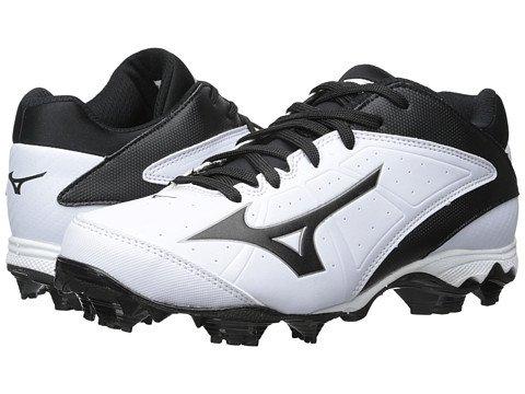 (ミズノ) MIZUNO レディース野球ベースボールソフトボールシューズ 9-SpikeR Advanced Finch Elite 2 [並行輸入品] B07F2TLY8J 6 (22.5cm) B M|ホワイト/ブラック ホワイト/ブラック 6 (22.5cm) B M