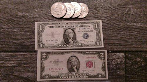 1972 Various Mint Marks Eisenhower (1 Dollar Silver Certificate)