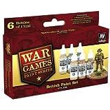 Model Color Set - WWII Wargames - British Paint Set