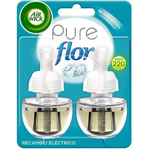 Air-Wick-Electrico-Recambios-de-Ambientador-Automatico-Electrico-Esencia-para-Casa-con-Aroma-a-Ropa-Limpia-Flor-2-Unidades