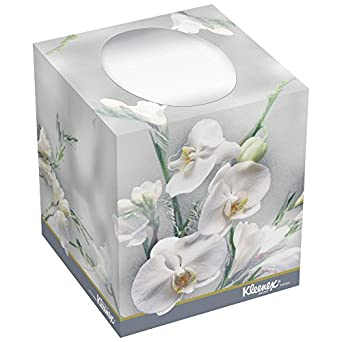 Pop up facial tissue low supply indicator love