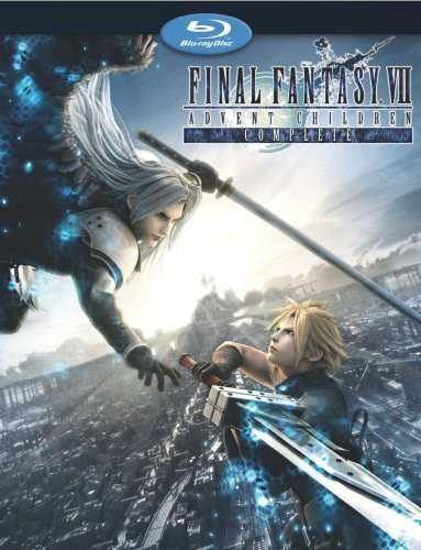 Amazon Com Final Fantasy Vii Advent Children Complete Blu Ray