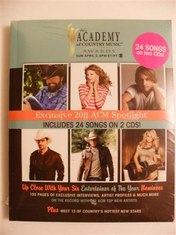 46th Academy of Country Music Awards (100 Page Booklet, & 2 CDs)