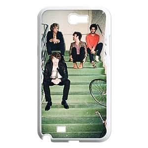 Samsung Galaxy N2 7100 Cell Phone Case White The Kooks 001 YD570772