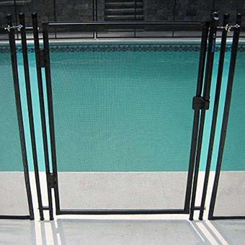 In Ground Pool Safety Fence Removable Gate - 36 x 48 Inches