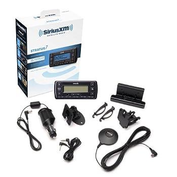 Siriusxm-ssv7v1 Stratus 7 Satellite Radio With Vehicle Kit- Black With 1 Free Month & Free Activation 4
