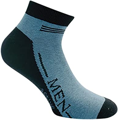 Sockenversand 8 pares de zapatillas de colores calcetines ...