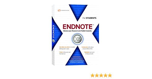 Amazon. Com: thomson reuters endnote student version for mac v5.