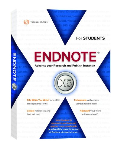 Download endnote x5 free trial.