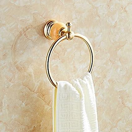 Anillo de toallas toallas,baño Toalla Ring Anillo circular piezas de hardware baño Toalla de