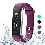 LETSCOM Fitness Tracker, Activity Tracker with Pedometer Step Counter Watch and Sleep Monitor, IP67 Waterproof Calorie Counter Watch, Slim Smart Bracelet for Kids Women Men