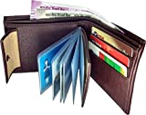 KEZRO Men's Wallet - Dark Brown