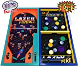 Matty's Toy Stop Deluxe Wood Tabletop Neon Lazer
