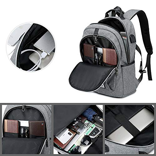 19d98f0b1bb Anti Theft Laptop Backpack Bag with USB Charging Port