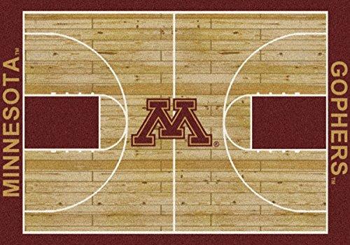 - Minnesota Golden Gophers Milliken NCAA Home Court Area Rug (5'4