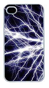 Electrify6 Polycarbonate Hard Case Cover for iPhone 4/4S White
