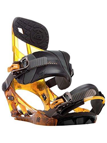 K2 Men's Hurrithane: Snowboard Bindings (Ale, Large)