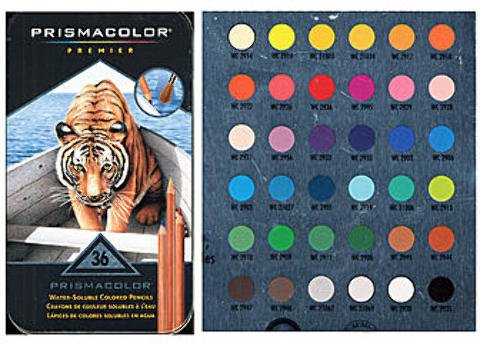 Prismacolor Watercolor Pencil Sets (Set of 36) 1 pcs SKU# 1832853MA by Prismacolor