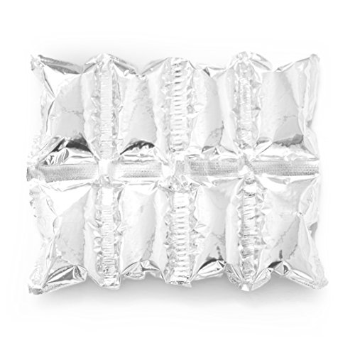 Reusable Ice Pack Sheets by Insta Freeze | For Coolers and Shipping - Stays Cold For 48 Hours (10 Pack 4x2 Sheets)