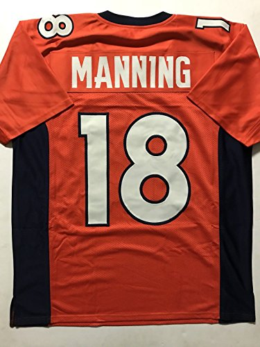 Peyton Manning Signed Authentic Football - 9