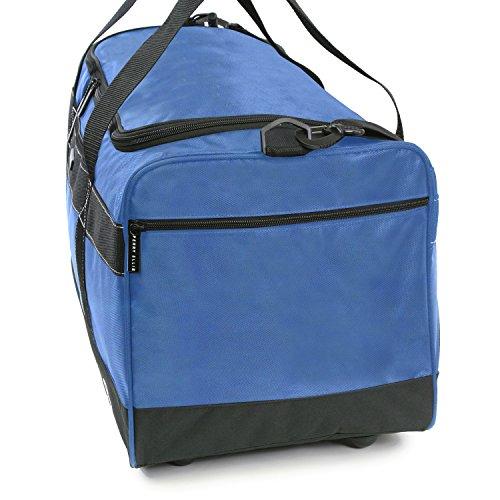 """51bqJud NBL - Perry Ellis 22"""" Weekender Duffel Bag, Navy"""
