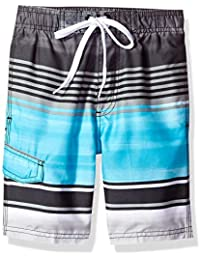 Boys' Avalon Quick Dry UPF 50+ Beach Swim Trunk