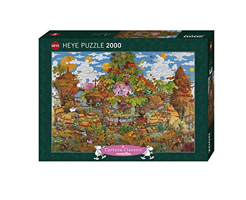 Heye Train 2000 Piece Guillermo Mordillo Cartoon Jigsaw puzzle