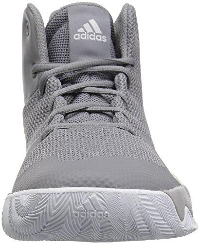 Adidas Originals Mænds Eksplosive Flash Basketball Sko, Grå Tre Stof, Ftwr Hvid, Grå To Stof, 12 M Os