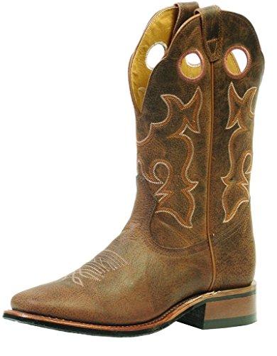 Bottes américaines - bottes western BO-3026-65-E (pied normal) - Homme - Marron