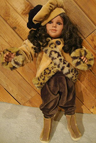 My Twinn Gold Velvet Coat & Pants & Hat My Twinn Doll Shoes