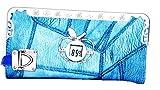 Fiesta Bags Womens Wallet(Blue) with digital watch & lock