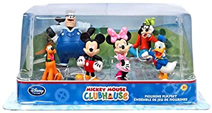 7f7e0a6f5a5 Image Unavailable. Image not available for. Color  Official Disney Mickey  Mouse Clubhouse 6 Figurine Playset