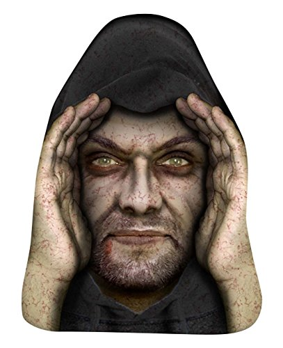 Lurking Peeping Thug Robber Zombie Halloween Window Prop Poster Decoration Great (A Thug For Halloween)