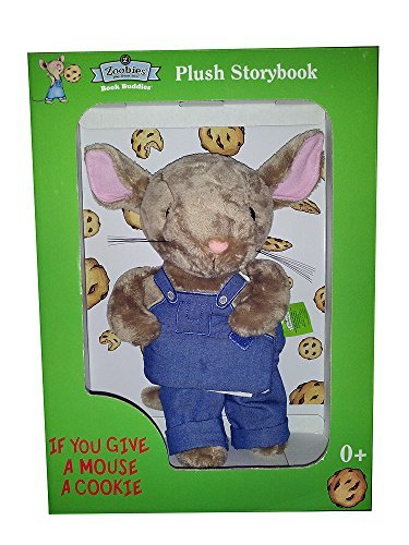 (Zoobies If You Give a Mouse a Cookie Plush Storybook Character)