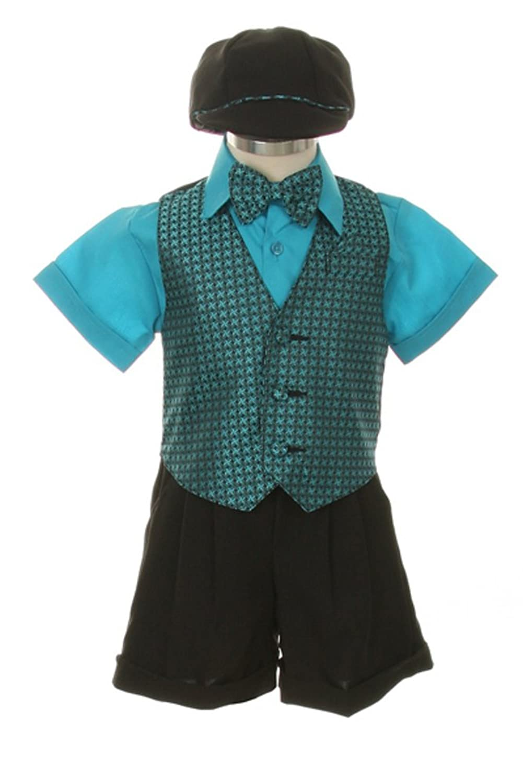 Amazon.com: Shorts, Bowtie, Vest, Short Sleeve Shirt & Hat for ...