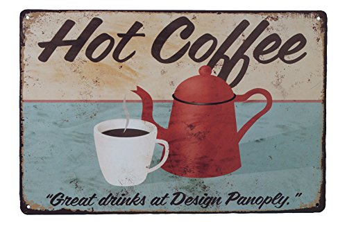 hot coffee sign - 7