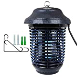 Kapas Electric Insect Zapper, New Upgrade with Free Hanger 40W Outdoor Bug Killer Lantern for Mosquitoes, Flies, Gnats, Pests & Other Insects, 1 Acre Coverage