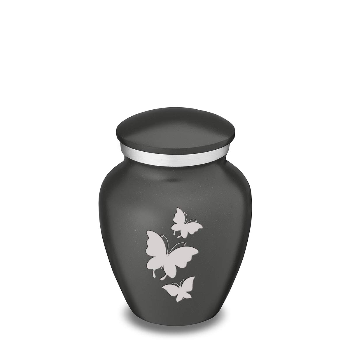 GetUrns Keepsake Mini Butterfly Cremation Urn for Ashes Charcoal