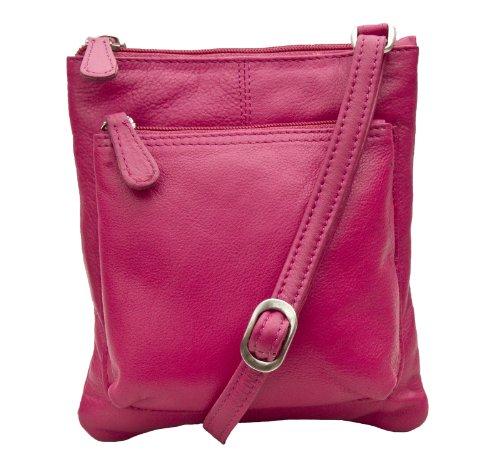 Prime Hide Ladies Small Leather Fashion Crossbody Bag