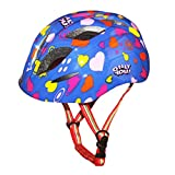 perfk Kid Boy Girl Adjustable Sport Safety Helmet for Skating Cycling Scooter Skateboard - Blue