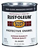 Rust-Oleum 7792504 Protective Enamel Paint Stops Rust, 32-Ounce, Gloss White
