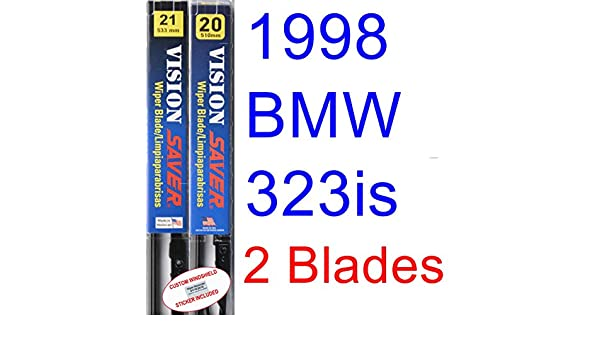 Amazon.com: 1998 BMW 323is Replacement Wiper Blade Set/Kit (Set of 2 ...