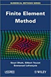 Finite Element Method, Dhatt, 1848213689