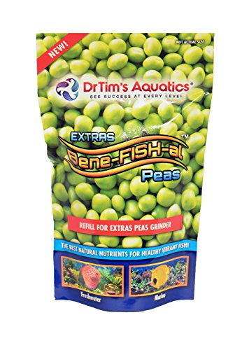 Foods Laxative - Dr. Tim's Aquatics Refill Pouch for Bene-FISH-al EXTRAS (Peas)