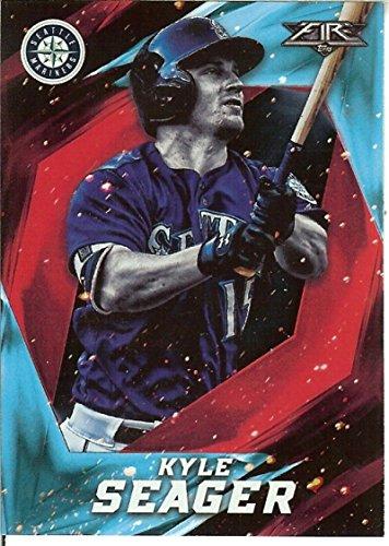 (Baseball MLB 2017 Fire Onyx #148 Kyle Seager Mariners)