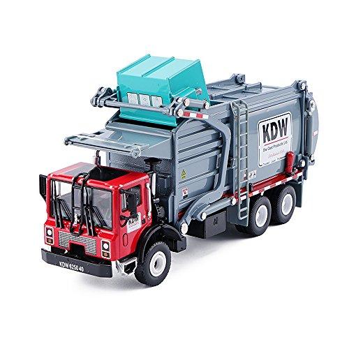 Diecast Transporter - KAIDIWEI 1/43 Scale Diecast Material Transporter Garbage Truck KDW Model