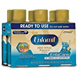 Enfamil EnfaCare Infant Formula - Clinically Proven growth benefits for premature babies - Ready to Use Liquid, 8 fl oz (6 count)